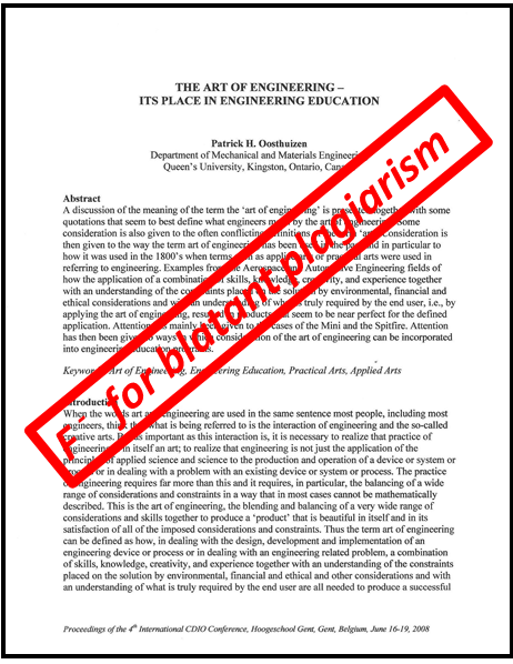 essays about plagiarism Plagiarism or academic dishonesty as it is commonly known is a rampant vice among college students which is committed both intentionally and unintentionally (maureen.